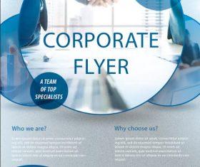 Corporate Flyer PSD Template Design