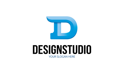 Design studio logo vector