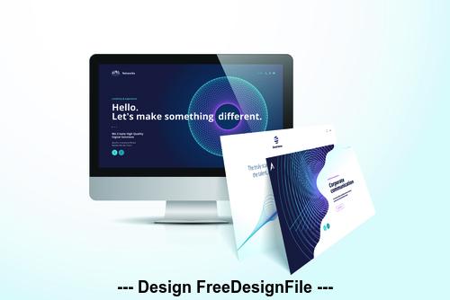 Development website vector illustration concept