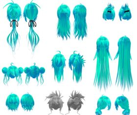 Hair PNG illustration