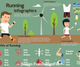 Healthy exercise vector