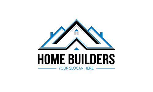 Home builders logo vector free download