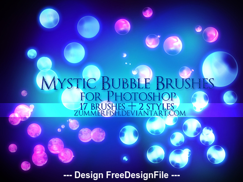 Mystic Bubbles PS Brushes
