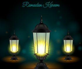 Ramadan Kareem Lights vector