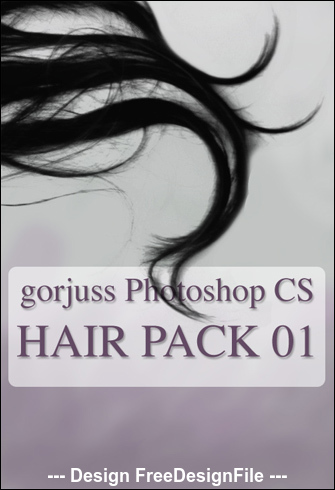Real Hair Photoshop Brushes
