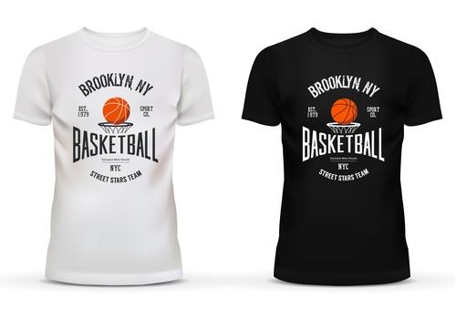 Team Memorial Black and white t shirt vector