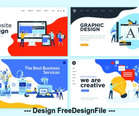 The best business services vector