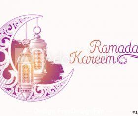 Vector color illustration of Ramadan Karim