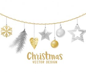 Vector design christmas card