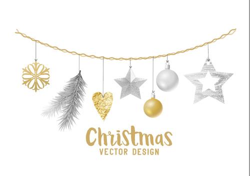 Vector design christmas card