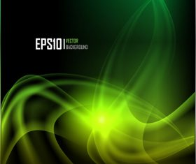 Abstract green pattern background vector
