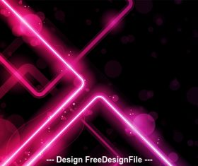 Abstract pink checkered pattern background vector