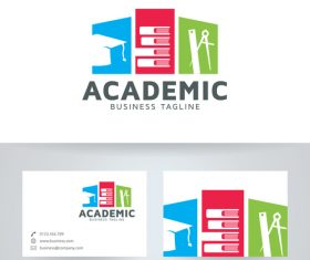 Academic logo vector