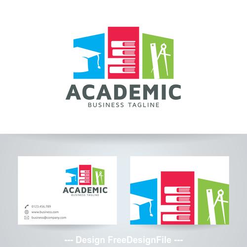 Academic logo vector