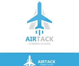 Airtack logo vector