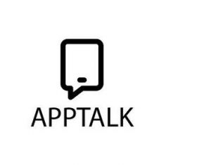 App talk logo template vector