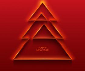 Christmas tree logo vector