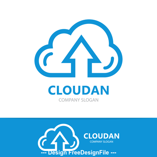 Cloudan logo vector