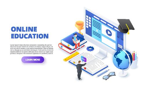 Concept illustration education vector