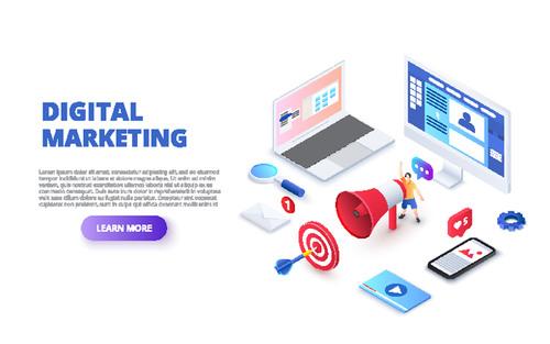 design digital marketing vector free download design digital marketing vector free