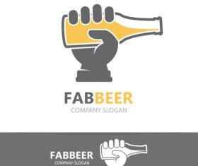Fabbeer logo vector