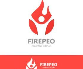 Firepeo logo vector
