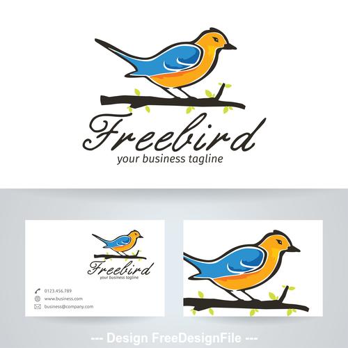 Free bird logo vector