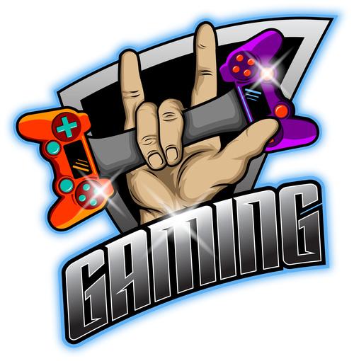Gaming mascot esport logo vector