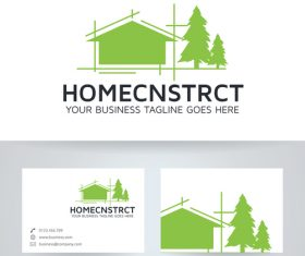 Home construction logo vector