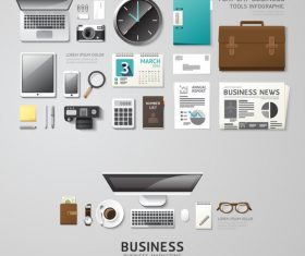 Infographic travel business vector