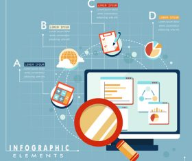 Information Responsive web design vector
