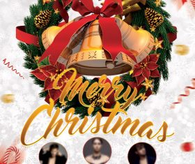 Merry Christmas Psd Flyer Template