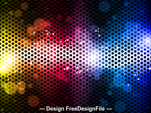 Metal abstract pattern background vector