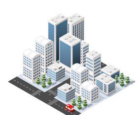 Module city vector
