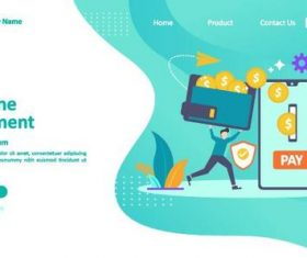 Payment concept illustration vector