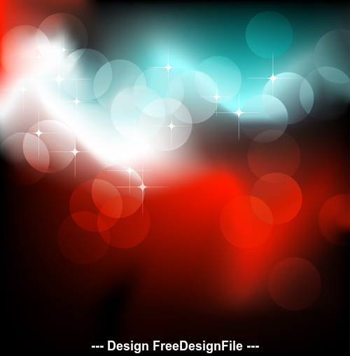 Shiny light dots abstract pattern background vector