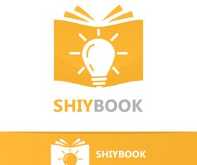 Shiybook logo vector