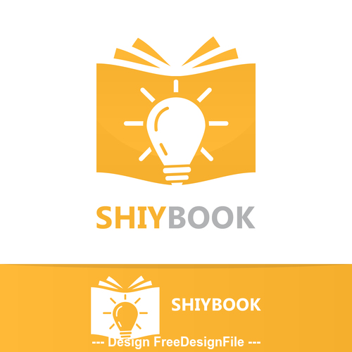 Shiybook logo vector
