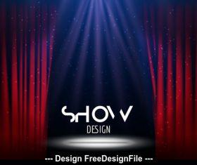 Show design vector