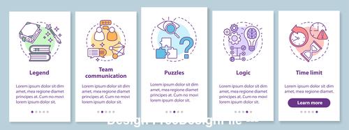 Team communication cartoon illustration vector