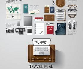Travel business vector