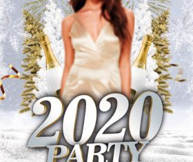 2020 Party Psd Flyer PSD Template