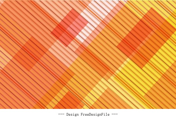 Abstract background bright yellow decor flat stripes vector