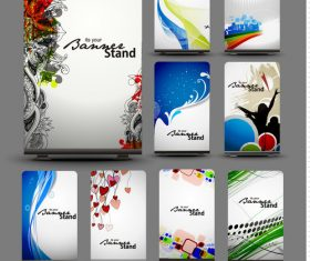 Beautiful card banner vector