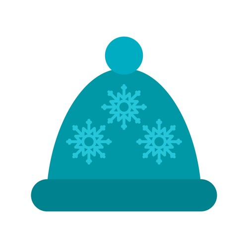 Bonnet icon vector