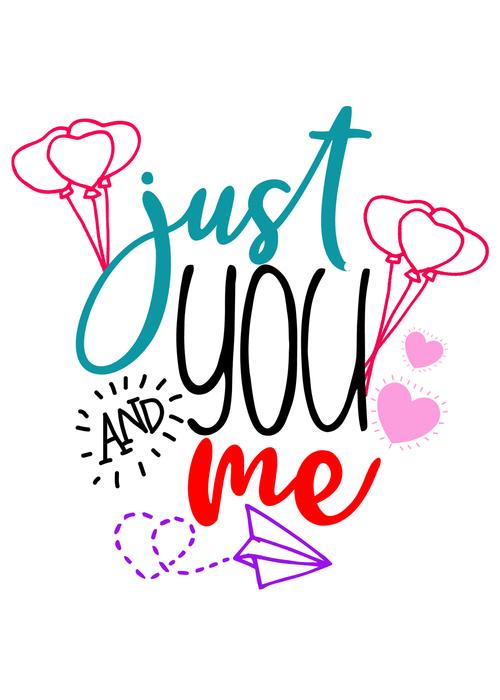 Cartoon valentine day card vector