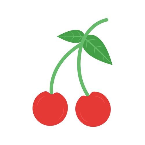 Cherry Icons vector