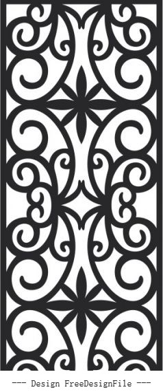 Classic pattern free cdrs art vector material