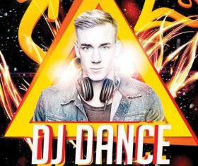 DJ Dance Flyer PSD Template