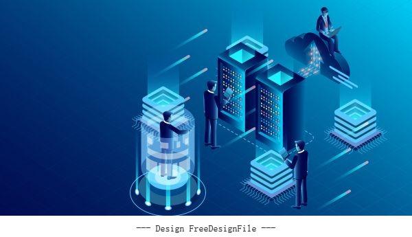 Big data processing protecting vector